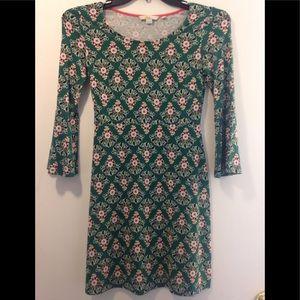 Boden dress bell sleeves - size 4